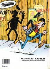Verso de Rocky Luke - Banlieue West