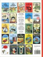 Verso de Tintin (Historique) -20C8- Tintin au Tibet