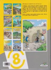 Verso de Les vélo Maniacs -8a2012- Tome 8