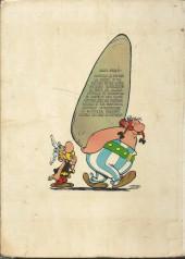 Verso de Astérix -1b69- Asterix le gaulois