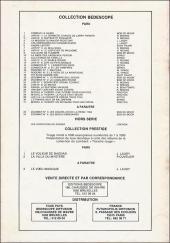 Verso de Michel et Thierry -4(3)- Un royaume pour un puffin