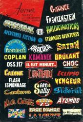 Verso de Le vicomte (Comics Pocket) -3- Le Vicomte en guerilla