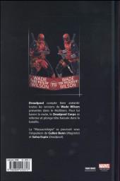 Verso de Deadpool (Marvel Dark) -4- Deadpool massacre Deadpool