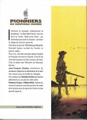 Verso de Les pionniers du Nouveau Monde -1d1997- Le pilori