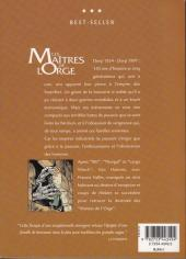 Verso de Les maîtres de l'Orge -INT- Intégrale
