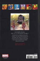 Verso de Marvel Comics - La collection (Hachette) -5246- Panthère Noire - Qui est la Panthère Noire?