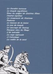 Verso de Le cavalier inconnu (Intégrale) -INT1- Volume 1