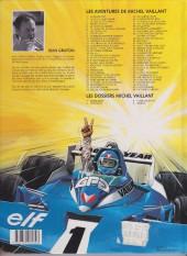 Verso de Michel Vaillant -9f1997- Le retour de Steve Warson