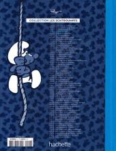 Verso de Les schtroumpfs - La collection (Hachette) -4- Le Pays maudit
