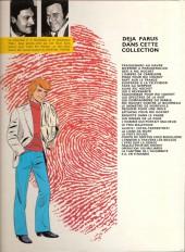 Verso de Ric Hochet -9a80- Alias Ric Hochet