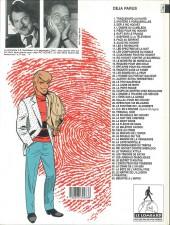Verso de Ric Hochet -40b1993- Le double qui tue