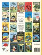Verso de Tintin (Historique) -12C8- Le trésor de Rackham Le Rouge