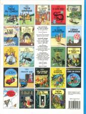 Verso de Tintin (Historique) -4C8- Les cigares du pharaon