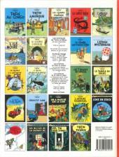 Verso de Tintin (Historique) -2C8- Tintin au Congo