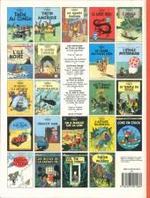 Verso de Tintin (Historique) -7C8- L'île noire
