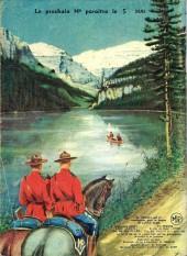 Verso de Jim Canada -11- Le hold-up de Cookstown