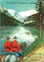 Verso de Jim Canada -16- L'étrange recrue