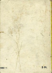 Verso de Kalar -REC36- Collection reliée N°36 (du n°182 au n°185)