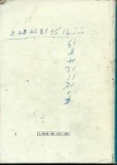 Verso de Kalar -Rec49- Album Relié N°49 (du n°228 au n°230)