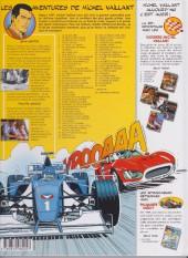 Verso de Michel Vaillant -46b2000- Racing Show