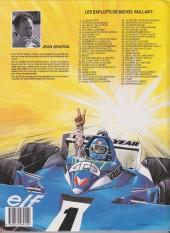Verso de Michel Vaillant -41a1991- Paris-Dakar !