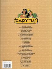 Verso de Papyrus -28a- Les enfants d'isis