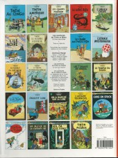 Verso de Tintin (Historique) -3C8 b- Tintin en Amérique