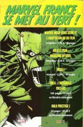 Verso de Spider-Man Hors Série (Marvel France puis Panini Comics, 1re série) -12- Une leçon de vie