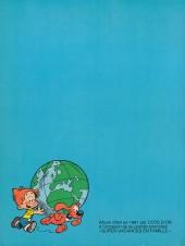 Verso de Boule et Bill -03- (Publicitaires) -7- Globe trotters tome 2