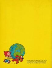 Verso de Boule et Bill -03- (Publicitaires) -6- Globe trotters tome 1