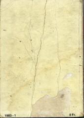 Verso de Rapaces (Impéria) -Rec61- Collection reliée N°61 (du n°368 au n°371)