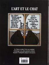 Verso de Le chat -Cat- L'Art et le Chat
