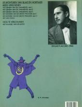 Verso de Blake en Mortimer (Uitgeverij Blake en Mortimer) -6- Het gele teken