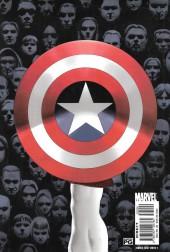 Verso de Captain America (2002) -INT1- The New Deal