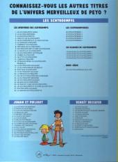 Verso de Johan et Pirlouit -2Pub- Le Maître de Roucybeuf
