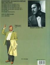 Verso de Blake en Mortimer (Uitgeverij Blake en Mortimer) -7- Het raadsel van Atlantis