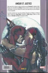 Verso de Ultimate Daredevil et Elektra (Marvel Deluxe) - La part du diable