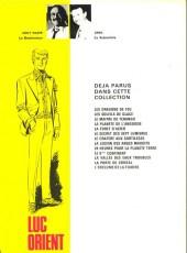 Verso de Luc Orient -3b78- Le maître de terango