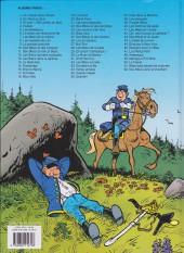Verso de Les tuniques Bleues -26b2009- L'or du Québec