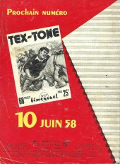 Verso de Tex-Tone -26- le député escroc