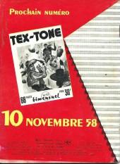 Verso de Tex-Tone -36- Le revenant