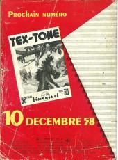Verso de Tex-Tone -38- Le totem d'or