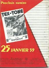 Verso de Tex-Tone -41- Les marchands d'esclaves