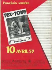 Verso de Tex-Tone -46- Le major têtu
