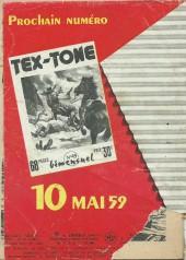 Verso de Tex-Tone -48- La bataille de Fort Sabre