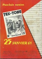Verso de Tex-Tone -89- Le défenseur de Jupy