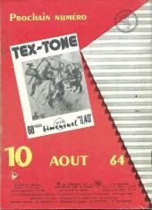 Verso de Tex-Tone -174- Preuves accablantes