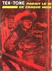 Verso de Tex-Tone -396- De l'autre côté de la frontière
