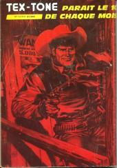 Verso de Tex-Tone -410- Le choix du châtiment