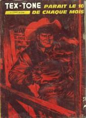 Verso de Tex-Tone -437- Le fils du bandit